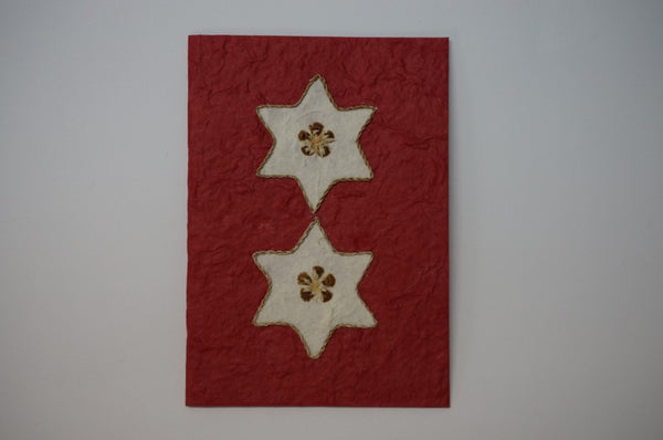 Christmas Stars Red Standard