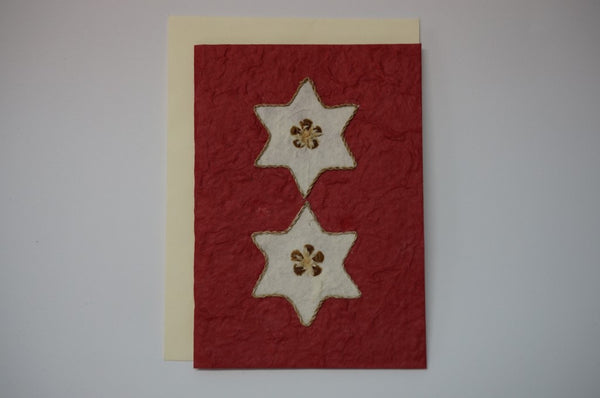 Christmas Stars Red Envelope