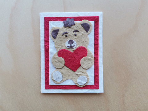 Mini Card: Teddy Bear (915)