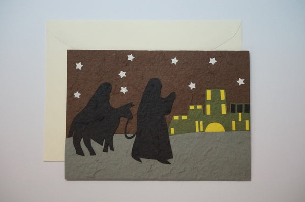 Joseph and Mary Night Travel Envelope