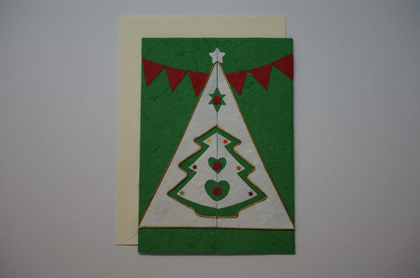 Tree Green Envelope