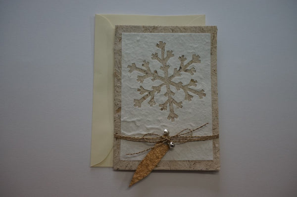 Snowflake and Bells Envelope