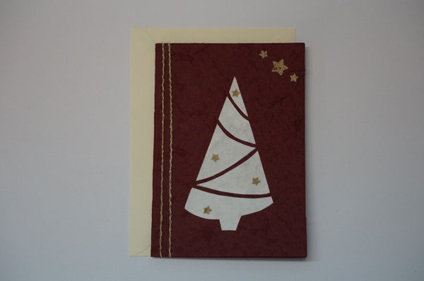Tree and Stars Red Envelope