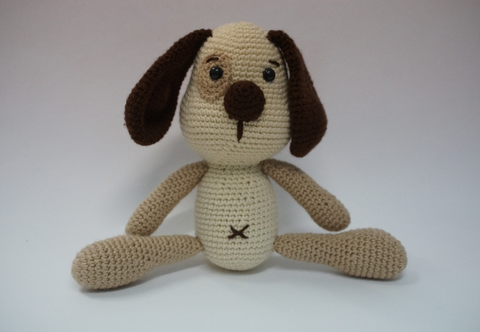 Tam the Crochet Dog