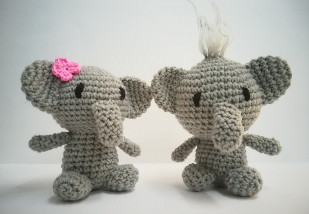 Pom and Pui Elephant Couple