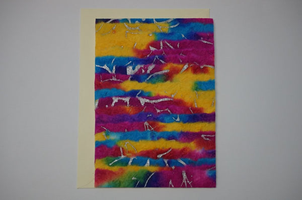 Multi Color Stripes Envelope