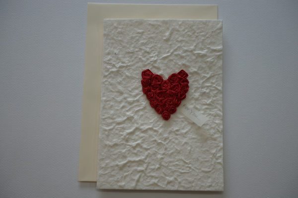 422 Heart Wreath Envelope
