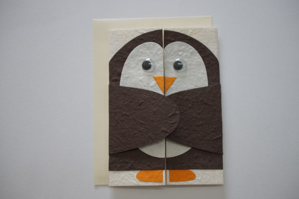 423 Happy Penguin Envelope