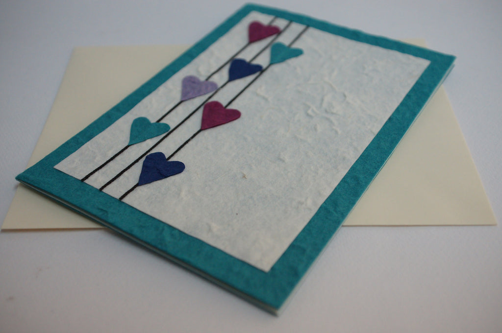 Turquoise Hearts (429)