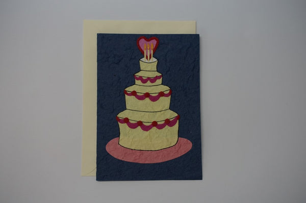 Wedding Cake Envelope