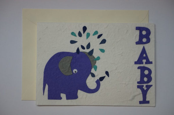 Baby Elephant Envelope