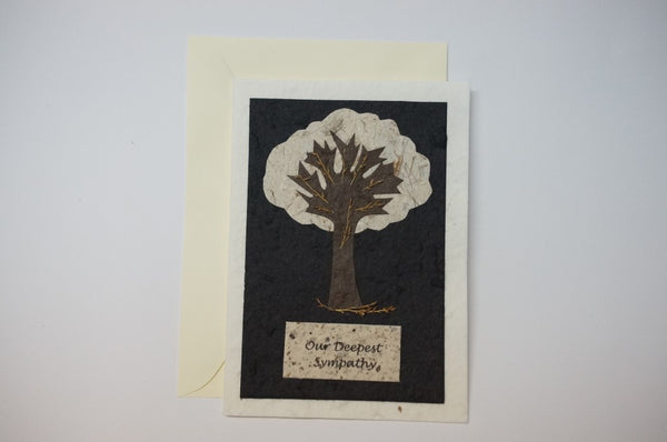 Condolence Tree Envelope
