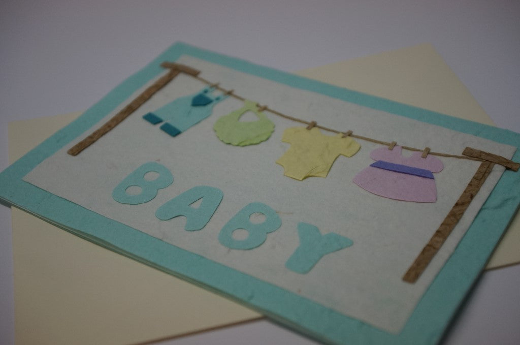 Baby Clothesline Close Up