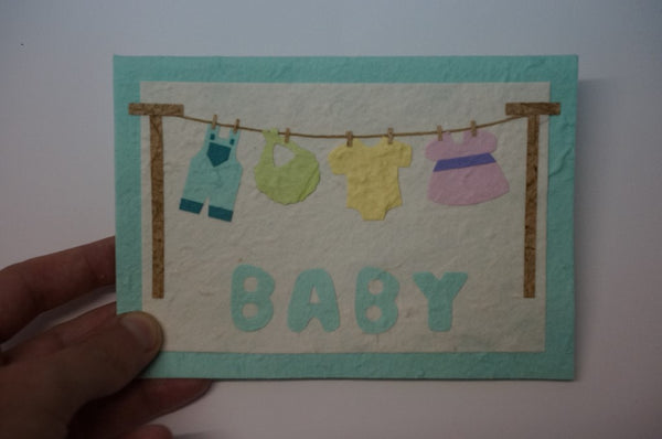 Baby Clothesline Hands On