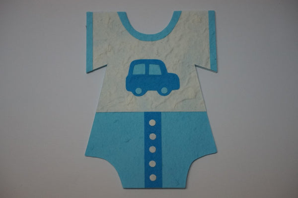 Clothe Shape Card For Boys Standard