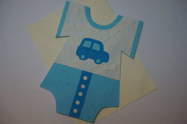Clothe Shape Card For Boys Fancy