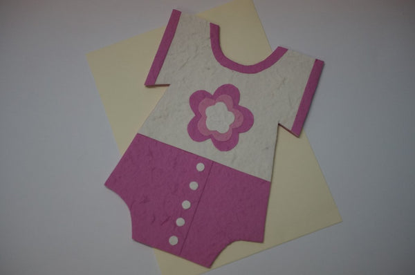 Clothe Shape Card For Girls Fancy