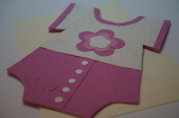 Clothe Shape Card For Girls Close Up