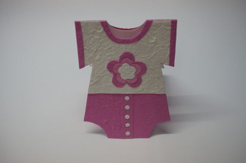 Clothe Shape Card For Girls Standing