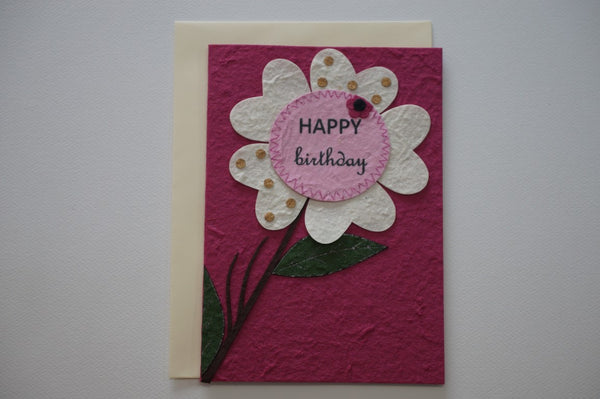 560 Flower Pink Envelope