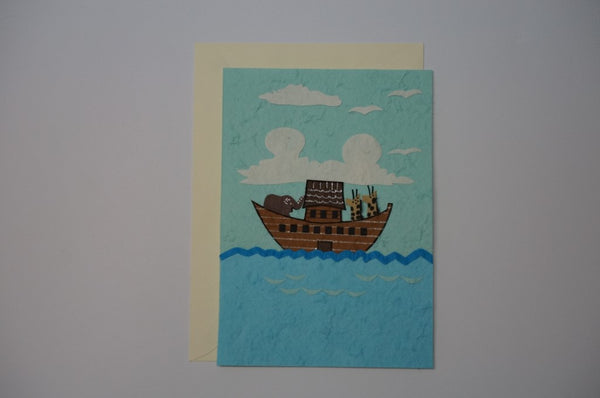 Ark Of Noah With Animals Envelope