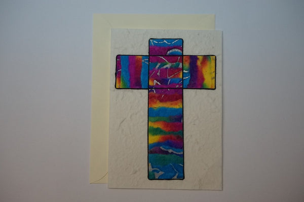 Multi Color Cross Envelope