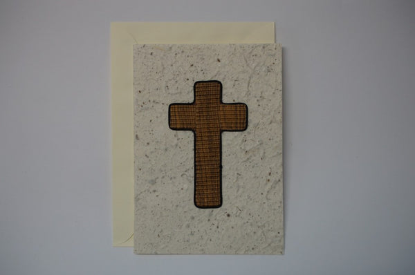 Brown Cross Envelope