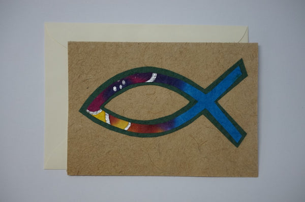 Multi Color Fish Envelope