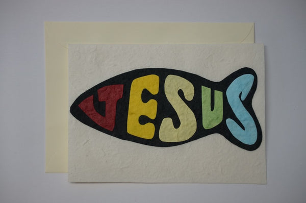 Jesus Fish Envelope