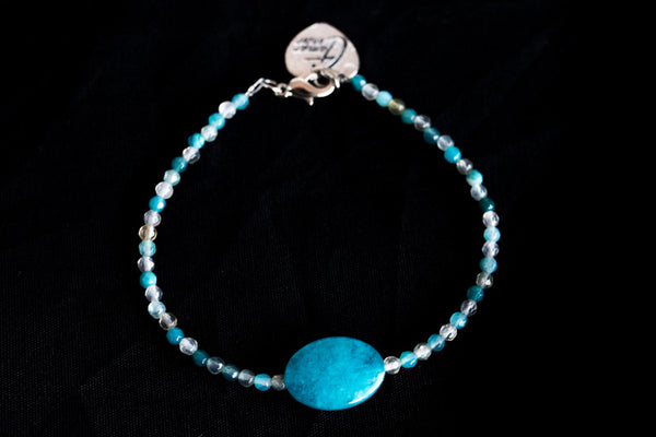 Tamar Heart Bracelet (Also available in other colors)