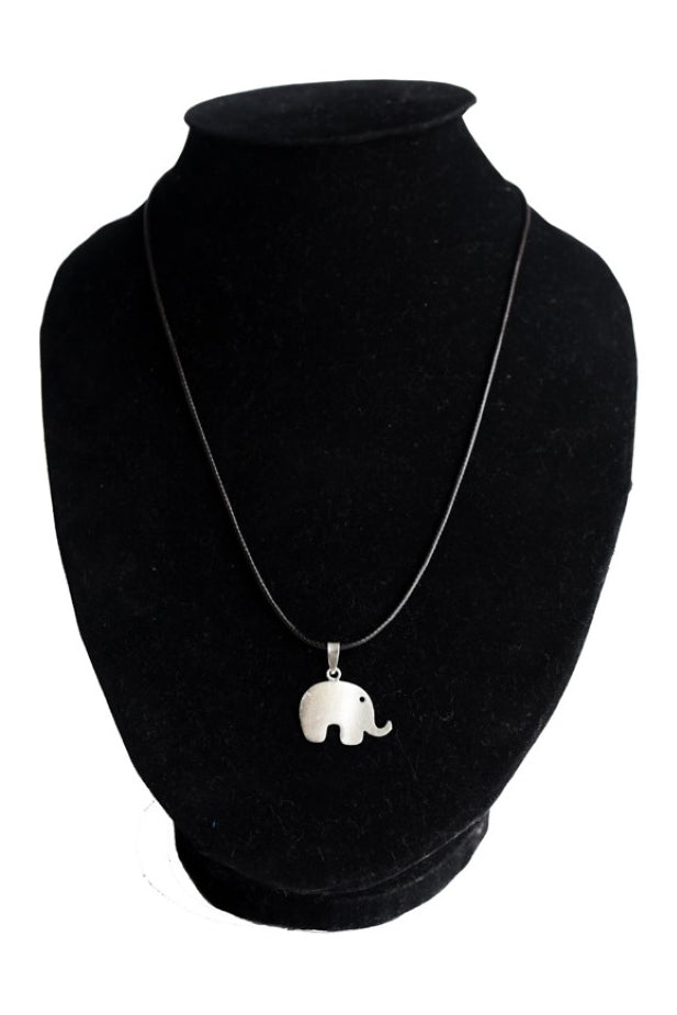 Elephant Necklace - 925 Sterling Silver