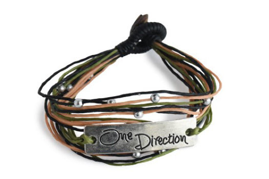 One Direction Bracelet (Different Colors Available)