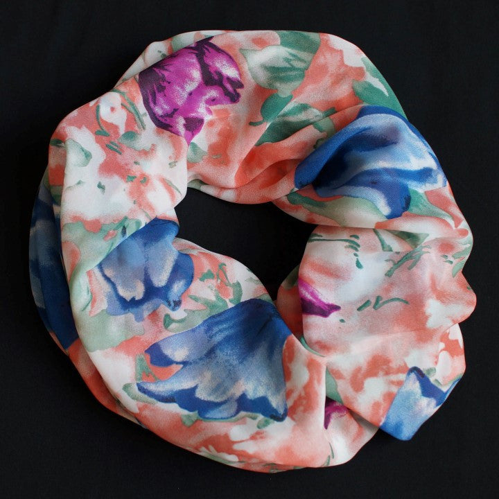 Blue and Berry Colored Tulips