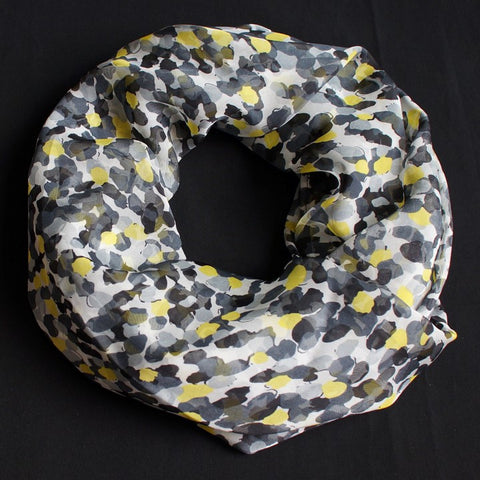 Yellow, Grey and Anthracite Dots
