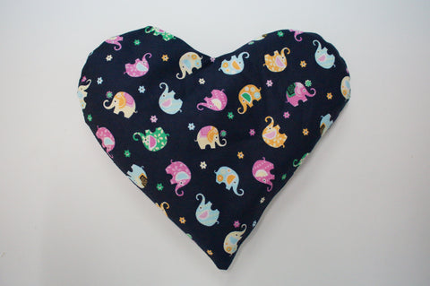 Heat Pack (Heart shaped with Elephants)