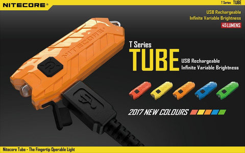 Nitecore Tube High Performance LED & USB Rechargeable Battery