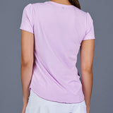 Boho Luxe T-Shirt Top (lilac)