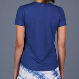 NY Square T-Shirt Top (Navy)