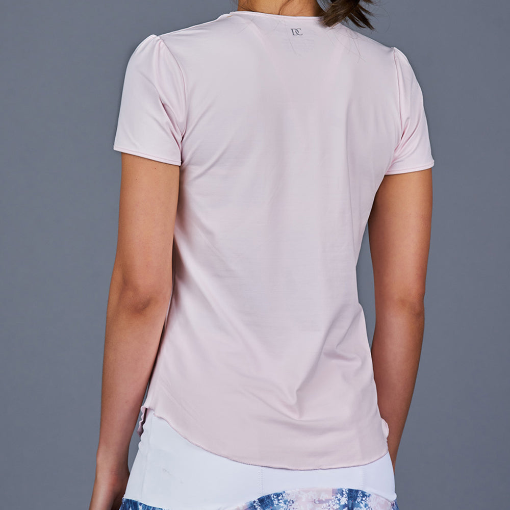 NY Square T-Shirt Top (Pink)