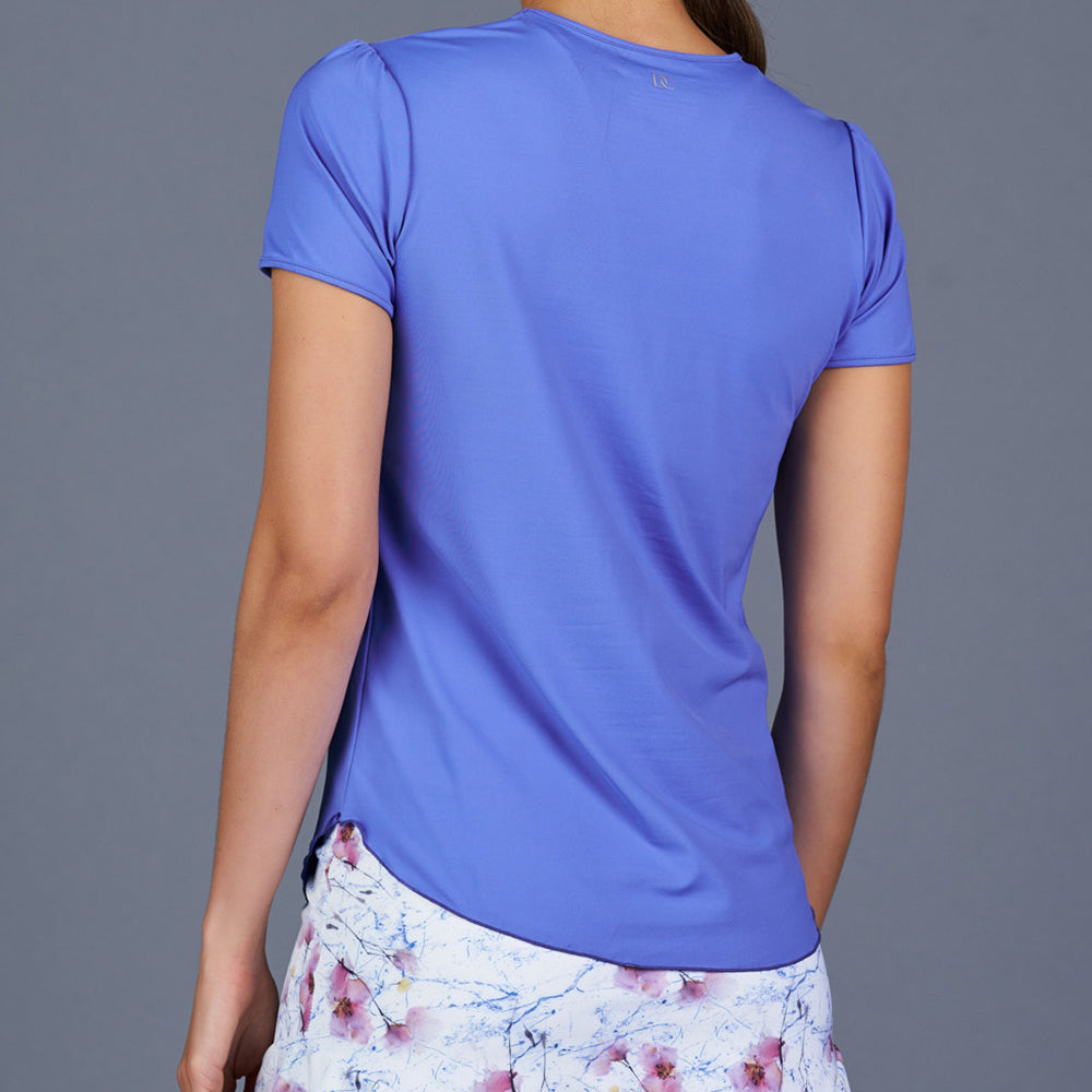 Spring Marble T-Shirt Top (blue)