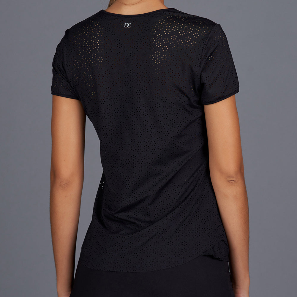 All Season Lacy Tee (black)
