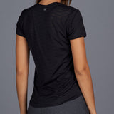 City Etch Lacy Tee (black)