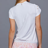 Valencia Vest Top (white)