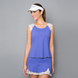 Edge Short-Sleeve Top (blue)