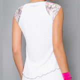 Wyn Short-Sleeve Top (white)