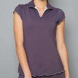 Mystical Collar Top (violet)