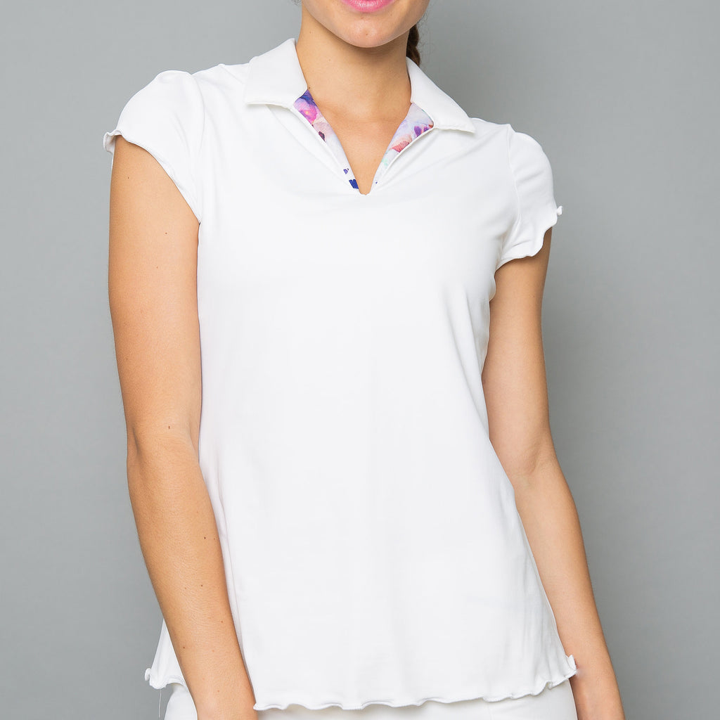 Mystical Collar Top (white)