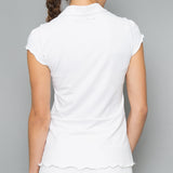 Army of Lovers Collar Top (white)