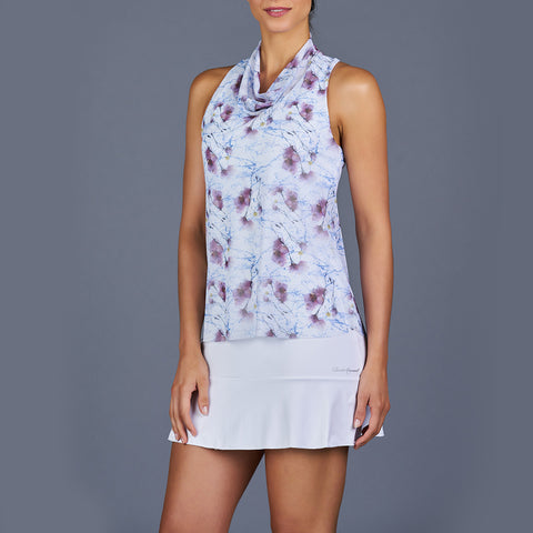 All Season Spaghetti-Strap Top (white)