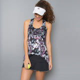 Vivid Dark Tennis Dress (black)